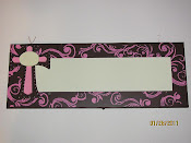 Pink Cross Bow Holder