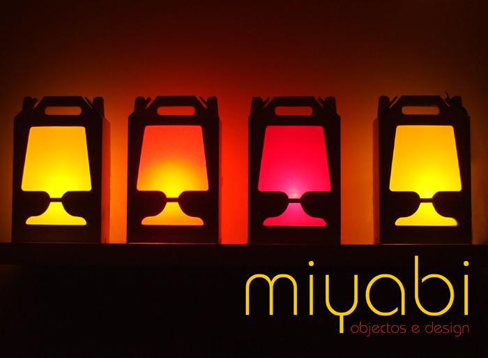 miyabi, objectos e design