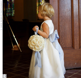 What else can flower girls hold for my wedding? The girls ...