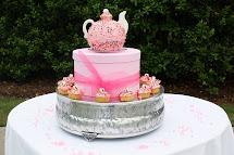 Garden Tea Party Cake