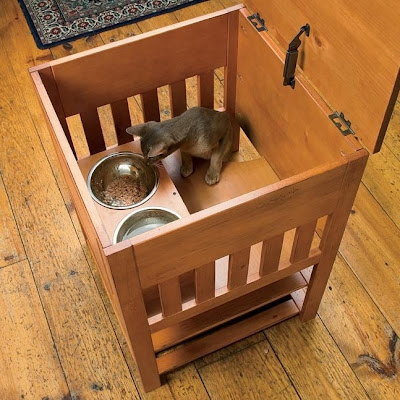 Cat Bowl To Keep Dogs Out
