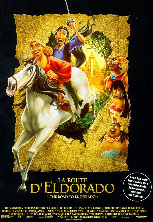 La Route d'Eldorado affiche