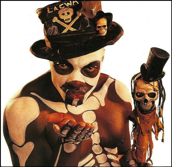 Voodoo Doctor Face Paint