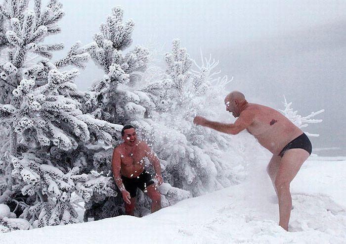 Pix Grove: Winter Swimming in Siberia