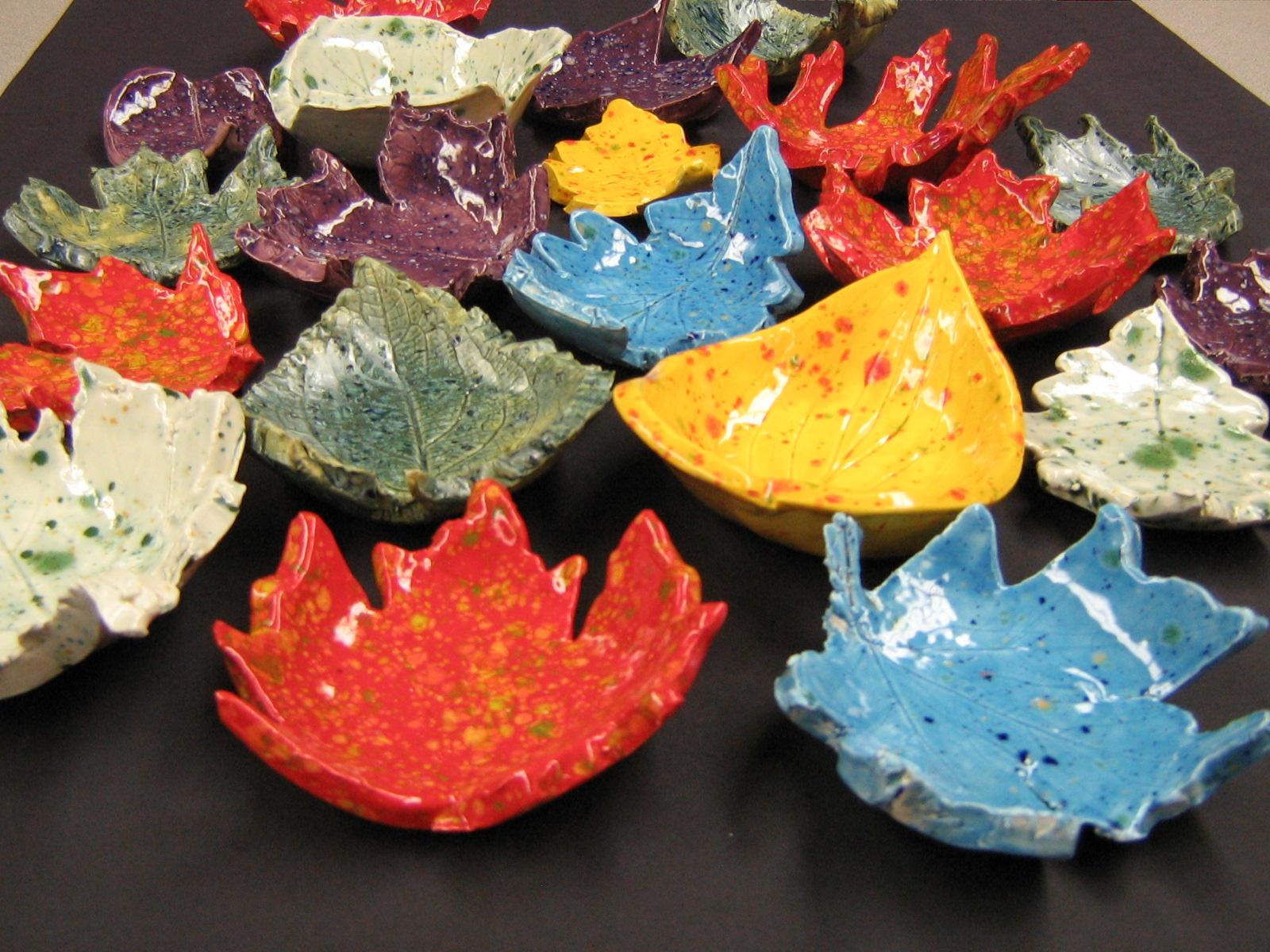Fun Art 4 Kids Leaf Bowls