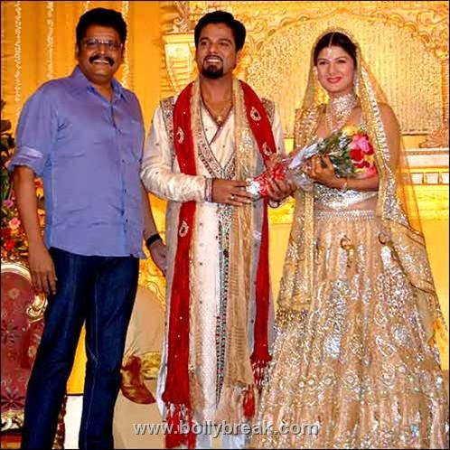 , Rambha's wedding reception Pics