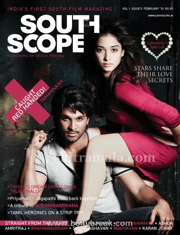 , Tamannah South Scope Magazine Cover Scan