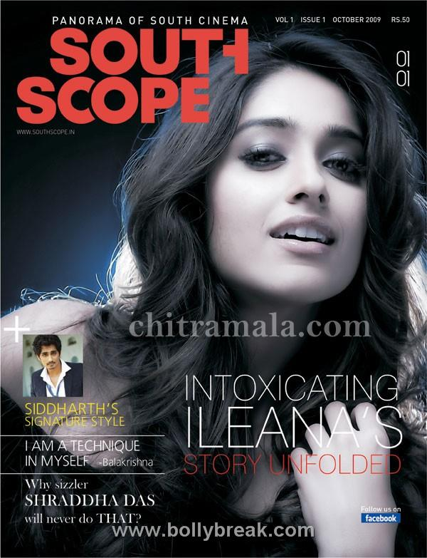 , Ileana South Scope Magazine Cover Scan
