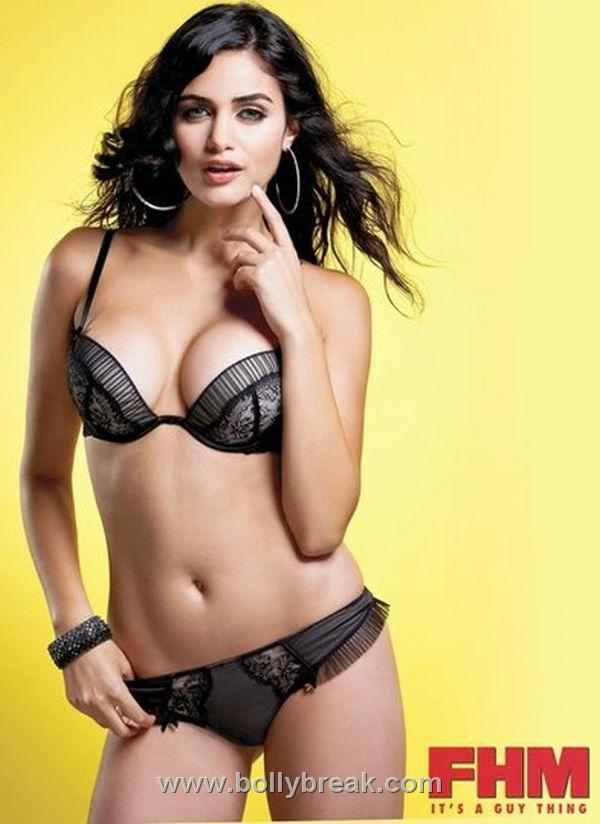 , IPL Miss Bollywood Gabriella Demetriades hottest bikini photoshoot for FHM