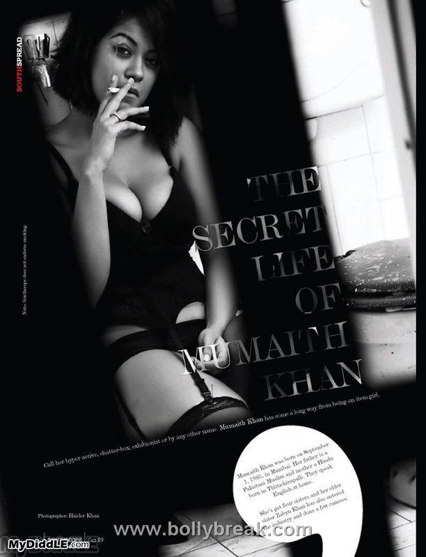 , Super Hot Mumaith Khan Sizzles in Sexy lingerie