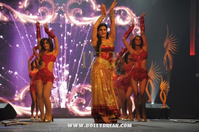 , Zarine Khan Performs at IIFA Awards 2010