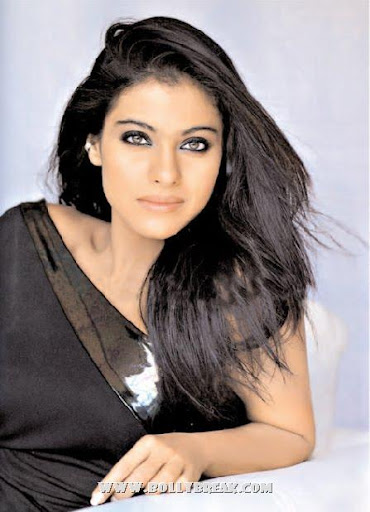 Kajol Beautiful Face Close Up Pic