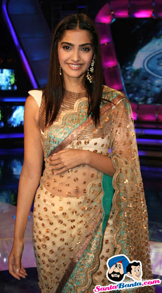  Sonam Kapoor Indian Idol 5 Pictures