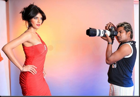 Sherlyn Chopra in Vishal Saxena Glamour Photoshoot