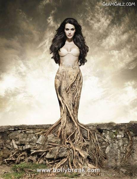Neha Dhupia Go Green Hot Calendar Shoot