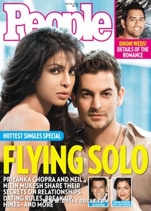 , Priyanka And Neil Nitin Mukesh PeopleMag Cover Scan