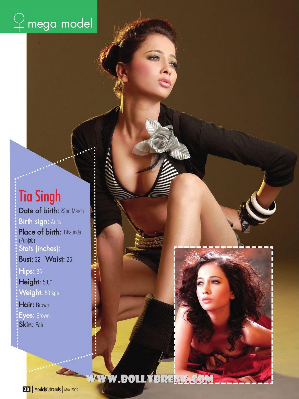 , Hot Indian Mega Models - Tia Singh, Ggunjun, Neetika