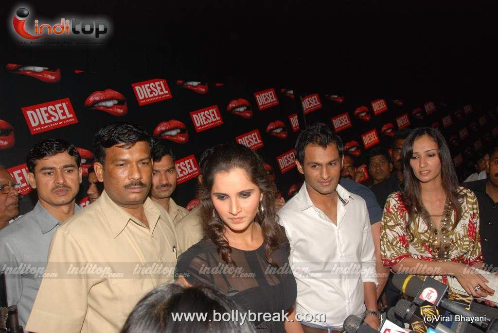 , Sania Mirza Hot Pics from Diesel Store Launch