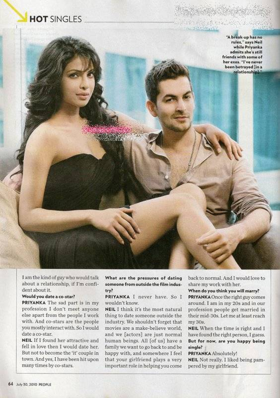 Priyanka Chopra Hot People Magazine Scans