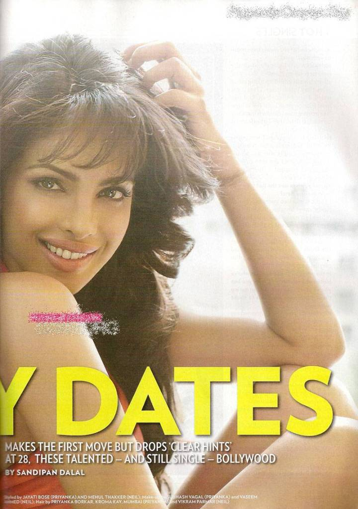, Priyanka Chopra Hot People Magazine Scans
