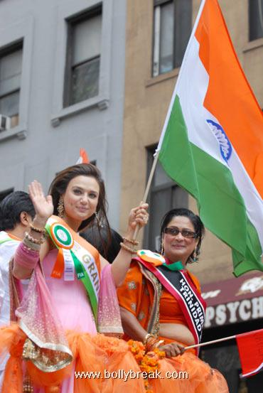 Preity Zinta New York Independence Day Parade Pics