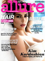 Kim Kardashian Allure Magazine Hot Scans