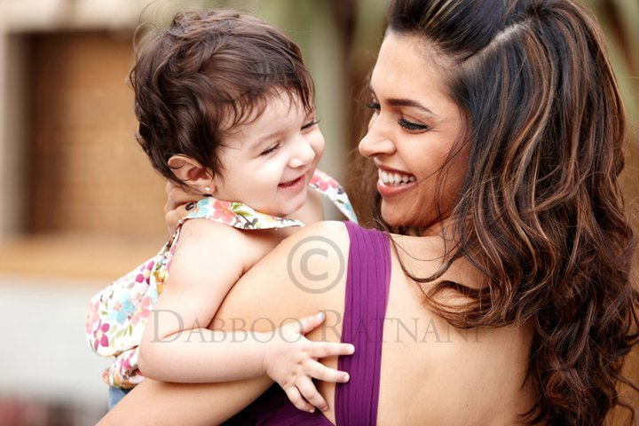 Deepika Padukone New Daboo Ratnani Photo With a Baby