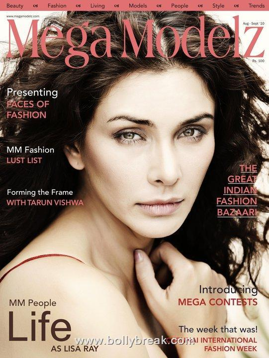 Lisa Ray Covers Mega Modelz