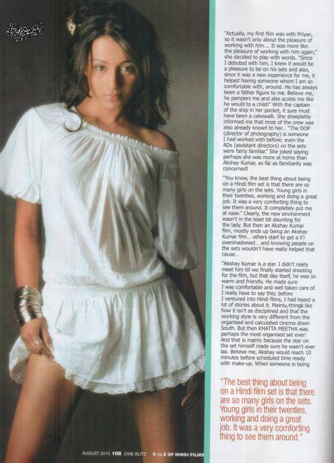  Trisha Krishnan Cineblitz Scans 