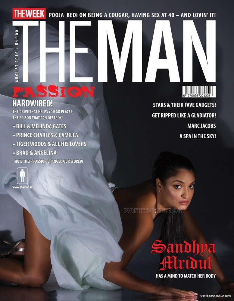 Sandhya Mridul The Man Magazine Hot Scans