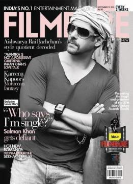 Salman Khan on the Cover of Filmfare Magazine