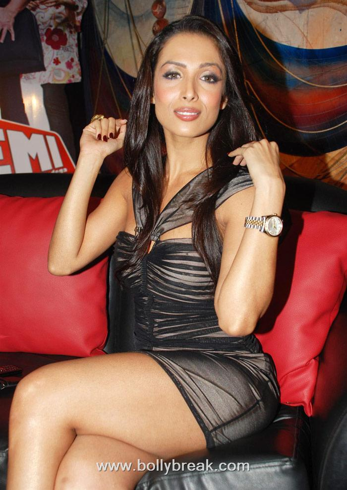 Hot Malaika Arora in Short Midi Dresses