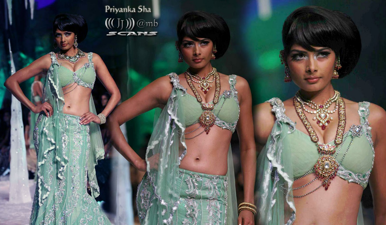 , Model Priyanka Shah Hot Ramp Walk HQ Pic