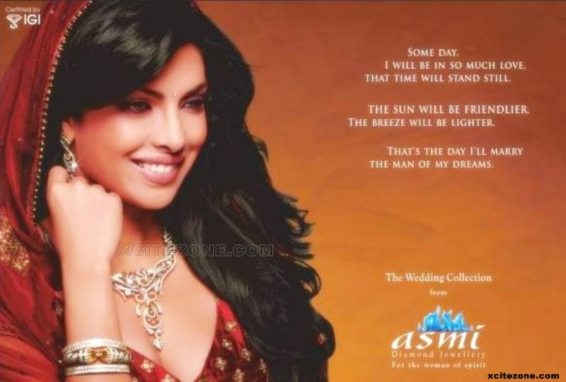 Priyanka Chopra Latest Asmi Ad Still
