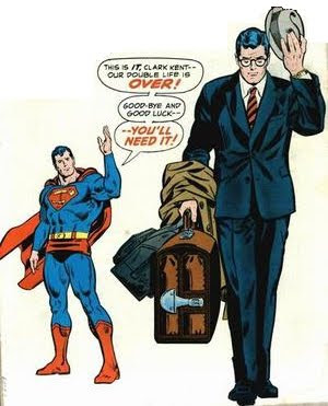 Clark Leaves Superman