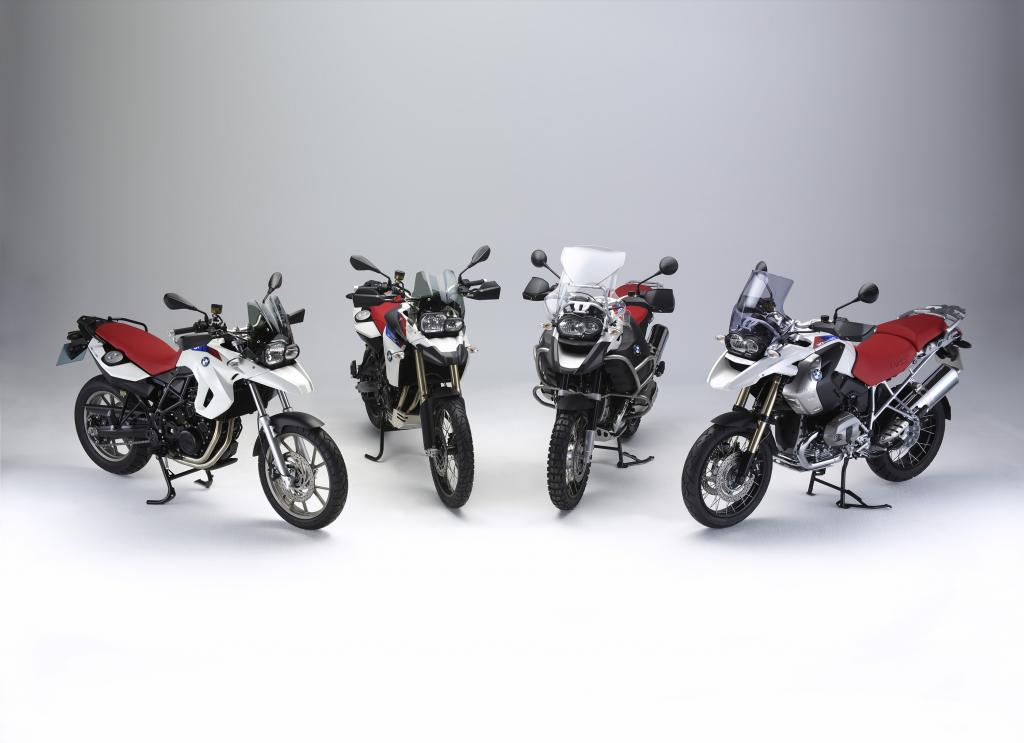 BMW REVEALS GS ANNIVERSARY MODELS