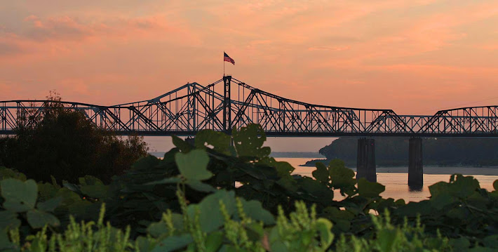 Mississippi River Bridges, Vicksburg, MS