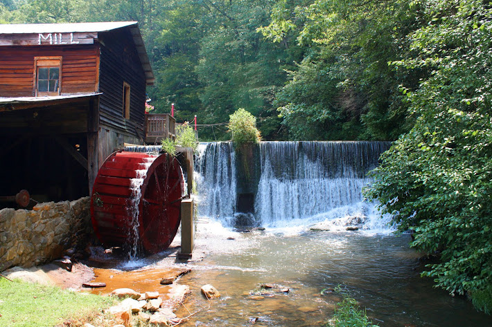 Old Skeenah Mill in Georgia