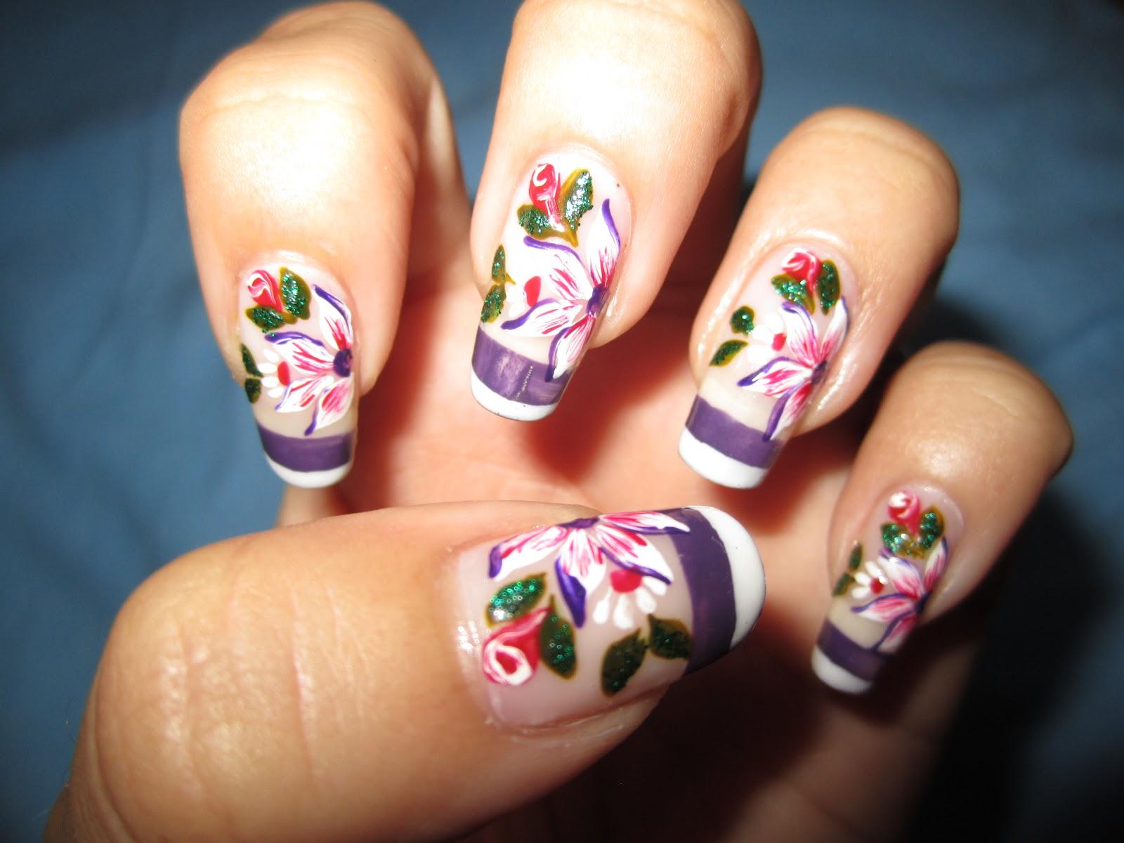 minhas unhas decoradas