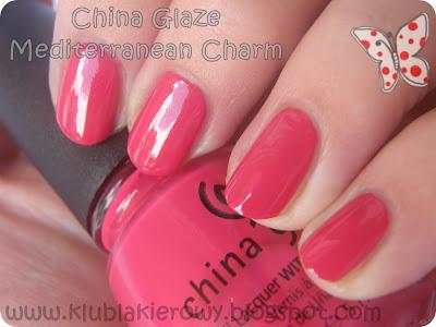 Klub Lakierowy China Glaze Mediterranean Charm
