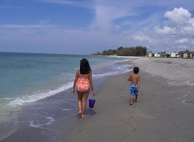 family at beach condo