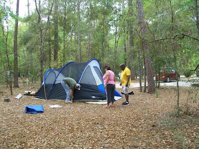 central Florida camping