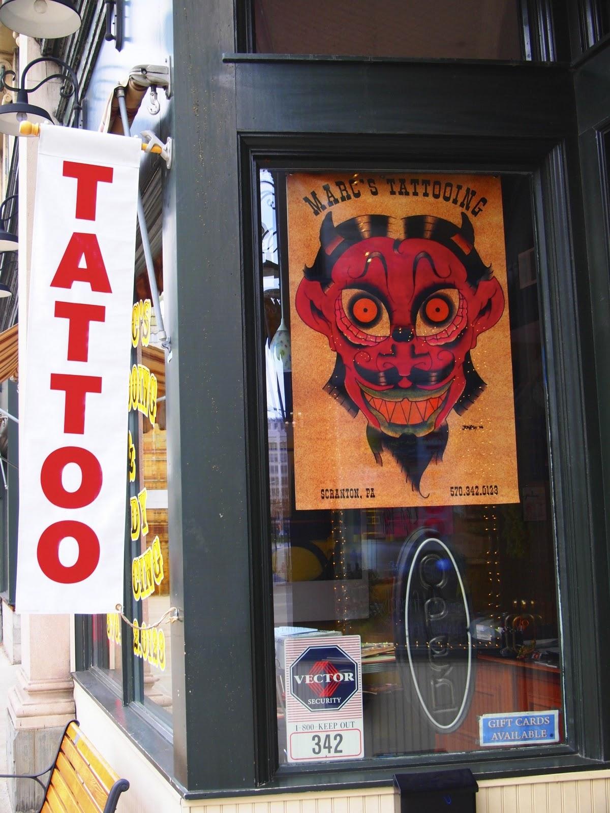 scranton daily photo tattoo art
