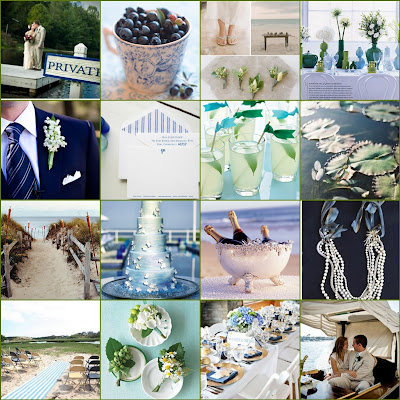 wedding is going to be an intimate beach ceremony and our colors are a