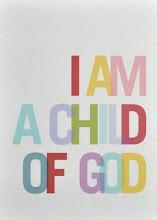 Eu sou filha de Deus.