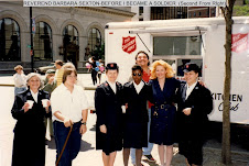 Rev Barb Sexton--Before I Became A Soldier in The Salvation Army, Stamford, CT (2nd from right)