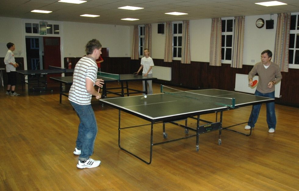 Learn Table Tennis Feel Refreshed With An Indoor Game Table Tennis