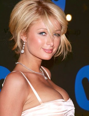 Paris Hilton sexy cleavage show, Paris Hilton pictures, photos, images, wallpapers