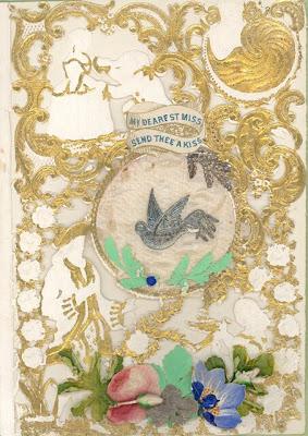 Valentine card 1862