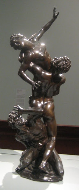 bronze sculpture after